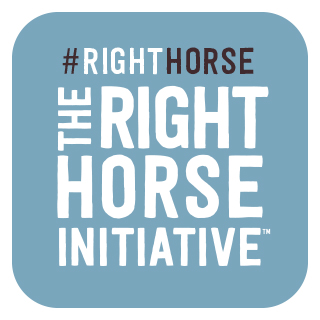 The Right Horse Social Badge 03